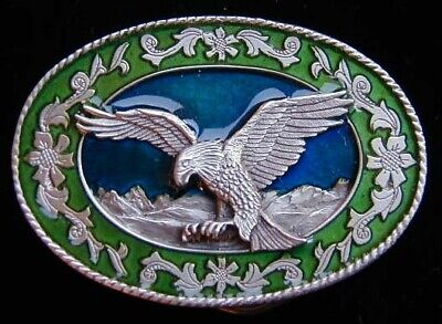 $12.95 • Buy Small Flying Eagle Western Style Belt Buckle Childrens New!