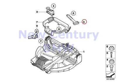 $16.66 • Buy BMW Genuine Various Body Parts Handle E83 E83N