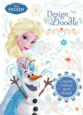 Disney Frozen Design & Doodle By Parragon Books Book The Cheap Fast Free Post • 5.49£