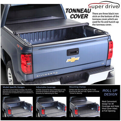 Auto Parts Accessories Car Truck Parts Tyger T1 Roll Up Tonneau Cover For 1999 2016 F 250 F 350 Superduty 6 75ft Bed Auto Parts Accessories Truck Bed Accessories