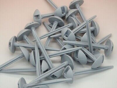 Coverandcarry 25 X Plastic Ground Sheet Pegs • 7.99£