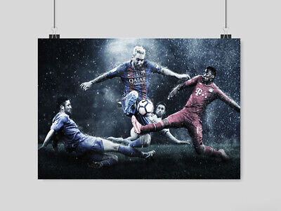 £6.95 • Buy Lionel Messi Poster Print Soccer Fc Barcelona Fc The Goat Football  A3 A4 Size