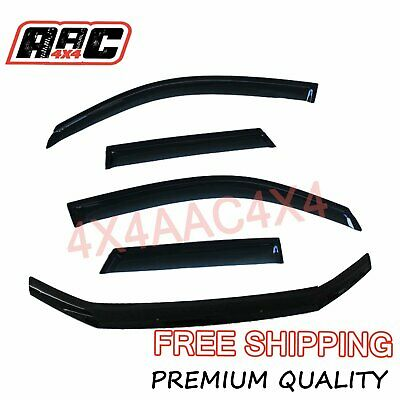 AU104.90 • Buy Bonnet Protector + Window Visors Weather Shield To Suit Ford Territory 2011-2016