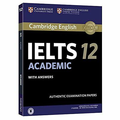 £12.09 • Buy Cambridge Ielts 12 Academic Student's Book With Answers With Audio China Reprint