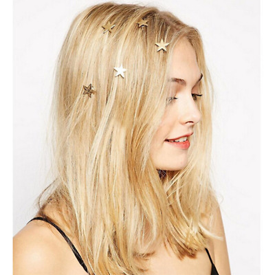 $2.45 • Buy 5pcs Fashion Star Headdress Wedding Hair Combs Bridal Hair Ornaments Accessories