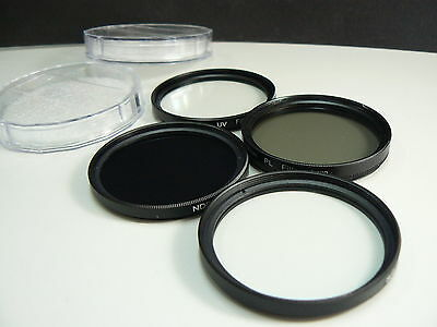 AU93.06 • Buy K4F BK 55mm Filter Lens UV PL Star ND For Panasonic LUMIX DMC FZ70 FZ72 Camera
