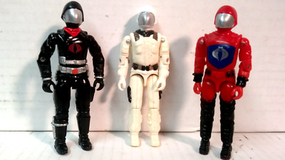 $ CDN13.07 • Buy Gi Joe 1982 1983 Cobra Commander Custom Cast Head White Black Or Red