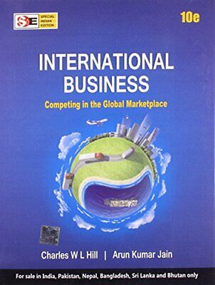 £5.99 • Buy INTERNATIONAL BUSINESS By Charles W. L. Hill And Arun, K Book The Cheap Fast