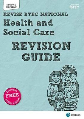 £6.99 • Buy BTEC National Health And Social Care Revision Guide: Second... By Shaw, Georgina