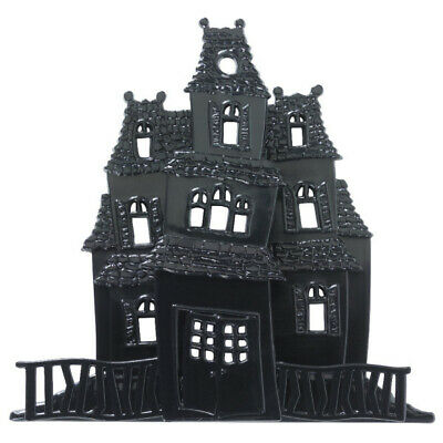 $5.50 • Buy 3D Haunted House Cake Topper Halloween Baking Frosting Decoration Spooky