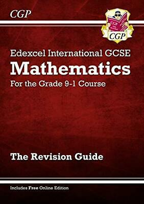 £3.29 • Buy Edexcel International GCSE Maths Revision Guide - For The Grade ... By CGP Books