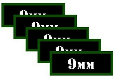 $ CDN2.63 • Buy Ammo Can Labels 9MM Ammo Can Decals Ammunition Can Vinyl Stickers 9MM 5-pack