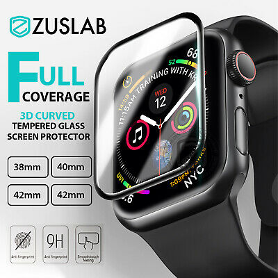 AU6.99 • Buy For Apple Watch IWatch 1 2 3 4 5 38/40/42/44mm Tempered Glass Screen Protector