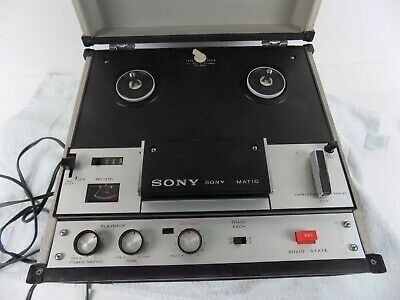 $129.95 • Buy Vintage Sony Tapecorder Tc-105 - Parts Only