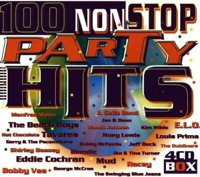 Various - 100 Non Stop Party Hits - Various CD PFVG The Cheap Fast Free Post The • 10.58£