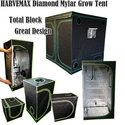 AU69 • Buy HARVEMAX All Size Mylar Grow Tent Great Design Idea Diamond Hydro Film None PVC