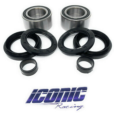 $38.99 • Buy Front Wheel Bearings And Seals Fits Honda 01-04 TRX500 Fourtrax Foreman Rubicon