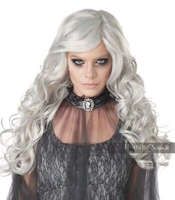 California Costumes Dead Bride Womens Zombie Scary Wig Halloween Costume 70957 • 13.93£