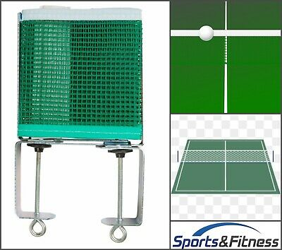 AU18.45 • Buy Table Tennis Net And Post Set With Extendable Steel Posts 153cm X 15.cm - GREEN
