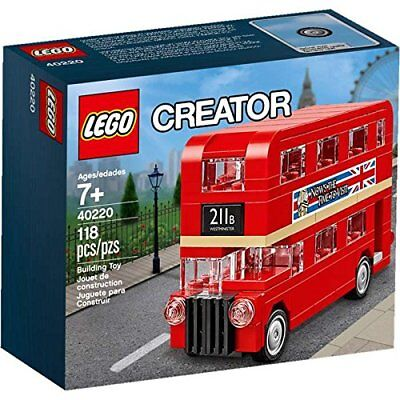 $ CDN22.32 • Buy NEW LEGO CREATOR Double Decker London BUS 40220 Mini Red Exclusive Sealed NIB