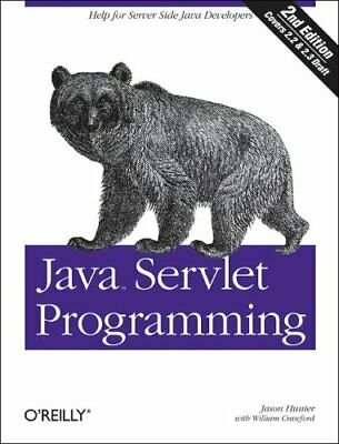 Java Servlet Programming By William Crawford Book Book The Cheap Fast Free Post • 4.99£