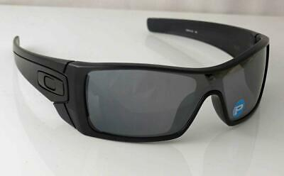 AU219.99 • Buy Oakley Polarized Batwolf 009101-35 Matte Black Ink Frame Black Iridium Lenses Nu