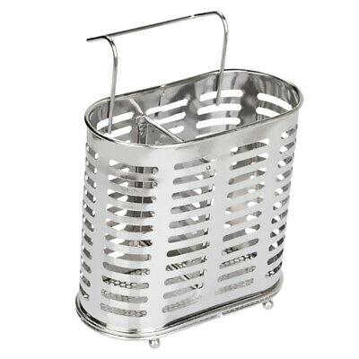 AU13.50 • Buy Stainless Steel Cutlery Caddy Utensil Holder Kitchen Chopsticks Organizer B