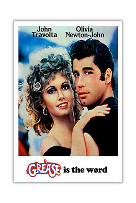 £4.99 • Buy Grease Movie Wall Poster Prints Room Decoration Film Pictures