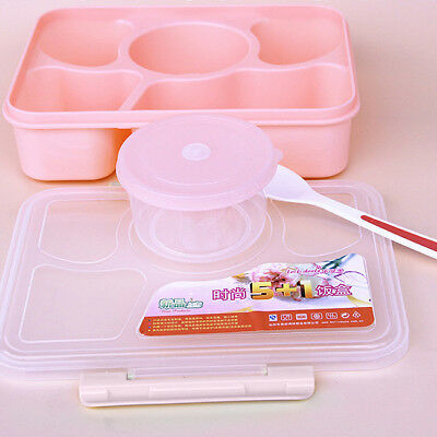 Small Cute Kids Lunch Box Bento Case Food Snack Container Microwave Portable FA • 6.51£