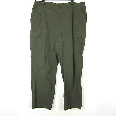 246bf91f9f4 EUC Columbia Titanium Omni Shield Mens Green Cargo Hiking Stretch Pants XL  39x30 • 20.00$