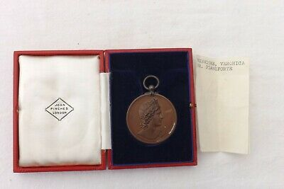 £29.99 • Buy John Pinches London Cased Bronze Medal Royal Academy Of Music Pianof 1938 (1019)