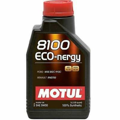 $ CDN76.46 • Buy Motul Auto 8100 Eco-nergy 5w30 100% Synthetic Motor Oil 1 Lt - 6 Pack