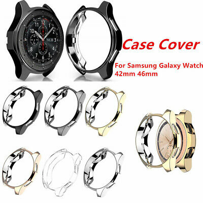 $1.85 • Buy For Samsung Galaxy Watch 42mm 46mm Accessories TPU Plating Protection Case Cover