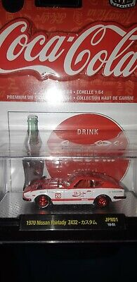 $ CDN35 • Buy M2 Machines Coca-cola 1970 Nissan Fairlady Z432 - Jpn01 18-51 Chase