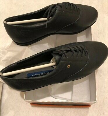 $ CDN41.79 • Buy NEW Easy Spirit Motion Leather Lace Up Oxfords Navy Blue Size 9 2E EE Extra Wide