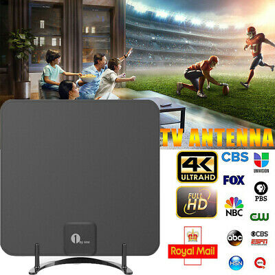 1byone Digital TV Aerial For HDTV/DVB-T Receiver Indoor TV Antenna Freeview UHF • 14.89£