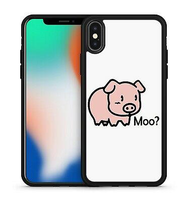 $ CDN10.30 • Buy Cute Adorable Cuddly Pig Animal Moo? Funny Quote Caption Phone Case Cover