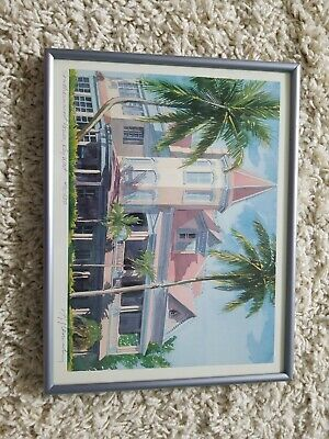 $39.88 • Buy  Southernmost House Key West,FL/Signed Art Print RE Kennedy 12.5x9.5 / Lmtd. Ed.