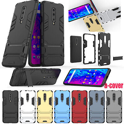 AU17.19 • Buy Hybrid PC Silicone Kickstand Shockproof Case Cover For Oneplus 7 Pro/6/6T/5/5T