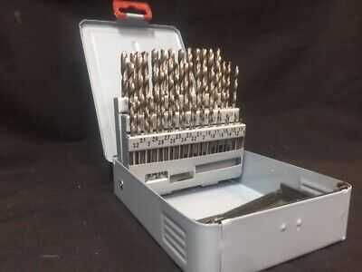 AU89 • Buy 51 PIECE HSS DRILL SET This Set Includes Every Drill Bit From 1mm - 6mm In 0.1mm