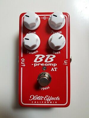 (new)  BB Preamp AT Andy Timmons Overdrive Pedal By Xotic Effects  • 149£