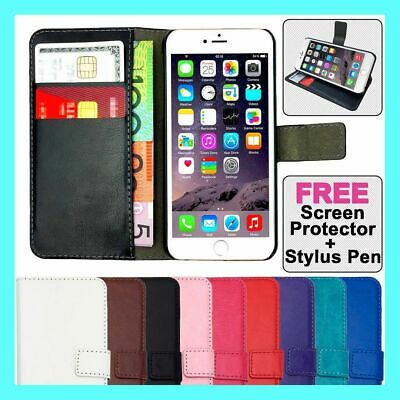 AU6.45 • Buy Premium Flip Wallet Case PU Leather Card Cover For IPhone 11 XR X 8 7 6 5 Plus
