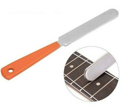 £7.99 • Buy Guitar Fret Crowning File Stainless Steel Dual Cutting Edge Luthier Tool New UK