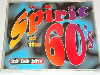 The Spirit Of The 60s - Sixties 20 Fab Hits CD Album Time Life TL53131 • 129.99£