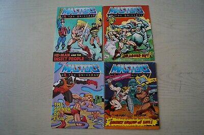 $11.95 • Buy Masters Of The Universe Comic Lot(4)
