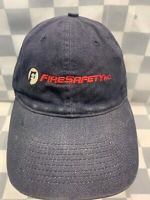 FIRE SAFETY INC Adjustable Adult Cap Hat • 5.61£