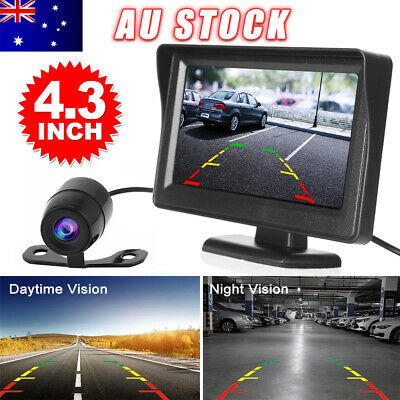 AU36.95 • Buy Car Rear View Kit 4.3  TFT LCD Monitor + IR Day/Night Parking Reversing Camera