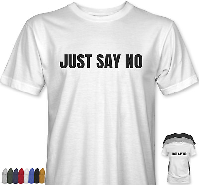 Just Say No T-shirt Worn By Jarvis Pulp Cocker Classic Rock Music Britpop Top • 13.99£