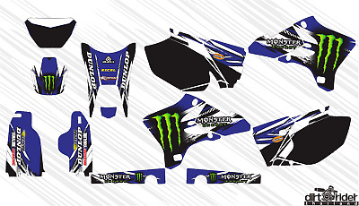 $75 • Buy Am0381 Yamaha Wr 250 F Wr 450 F 2003-2006 Decals Stickers Graphics Kit