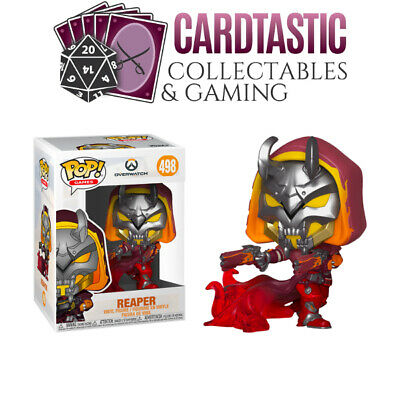 AU15.99 • Buy Overwatch Reaper Hell Fire #498 - New Funko POP! Vinyl Figure (RS)